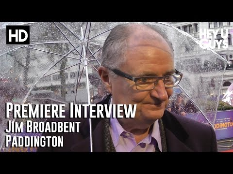 Jim Broadbent Interview - Paddington movie World Premiere
