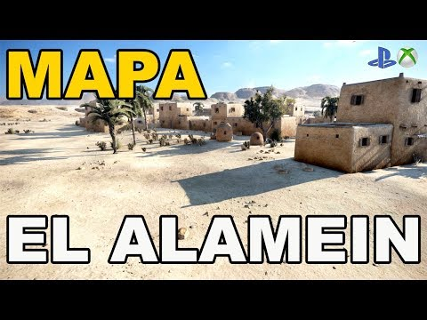 Mapa El Alamein World of Tanks Xbox One/Ps4