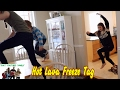 Floor Is Lava - LAVA MONSTER - Hot Lava Freeze Tag / That YouTub3 Family | Family Channel