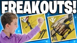 Destiny 2 Funny Le Monarque ANARCHY Exotic Freakouts Top 5 Funny Reactions 113