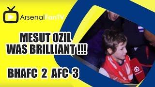 Mesut Ozil Was Brilliant !!! - Brighton 2 Arsenal 3
