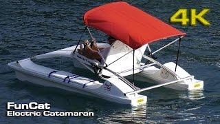 FunCat Electric Catamaran [4K]