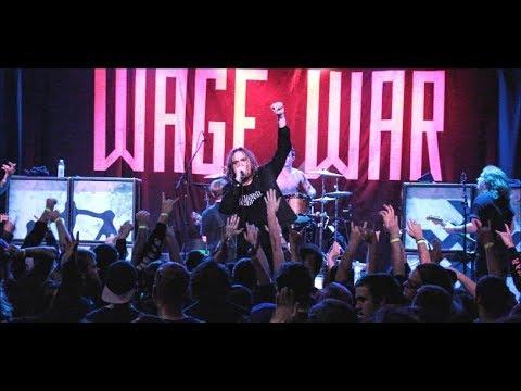 Wage War - Full Set - Deadweight Tour Part II - New Jersey - 12/10/17