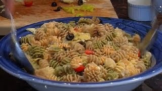Greek Pasta Salad With Artichokes & Feta : Vegetarian Recipes
