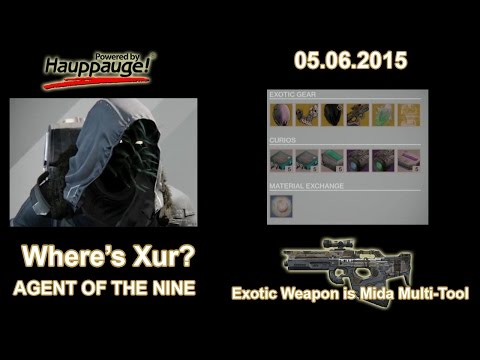 Where is Xur? (Agent of the Nine) 05/06/15