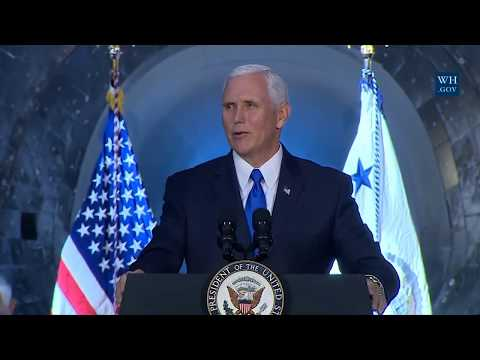News Live HD - Vice President Mike Pence  Hosts the First Meeting of the National Space Council 5/10