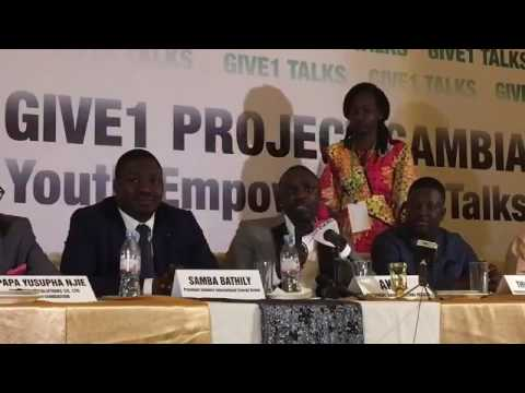 Akon Live in The Gambia  (Akon lighting Africa project)