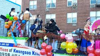 2019 Lunar New year's parade in Flushing NY