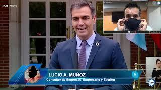 BRUTAL, Lucio Muñoz: Sánchez es sinónimo de desastre económico y un caos sanitario