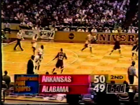 Arkansas vs. Alabama 2/15/1995
