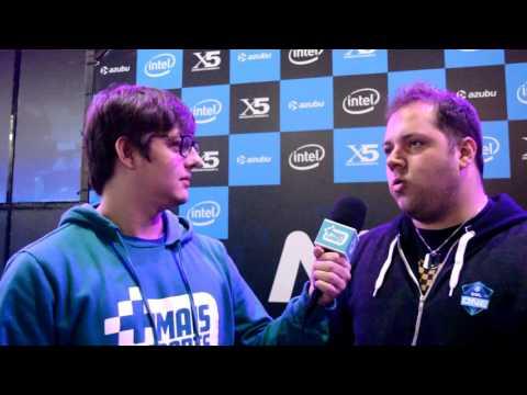 Entrevista com Zews, jogador da Immortals na Max5