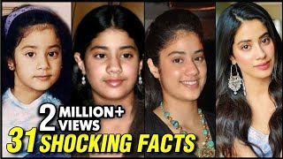 Janhvi Kapoor 31 UNKNOWN SHOCKING Facts | Happy Birthday Janhvi Kapoor
