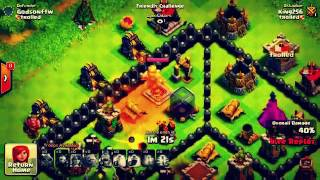 Kill A HUGE ARMY IN THIS DEATH BOX!! Clash Of Clans Tricks & Hacks | Death MAZE
