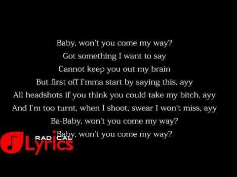 Fetty Wap - My Way (Remix) Feat  Drake LYRICS
