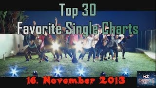 Top 30 Favorite Single Charts Dezember/December I 30. November/November 2013