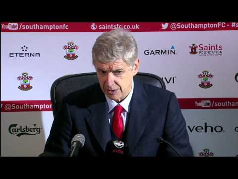 Arsene Wenger blames the Arsenal players after Southampton defeat
