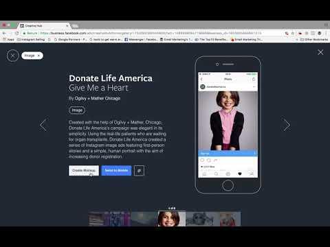 What is Facebook creative hub
