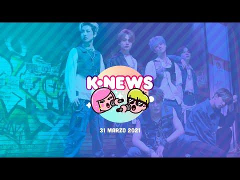 NCT Dream, Wendy de Red Velvet, Mingyu de SEVENTEEN y más en las KNews | 31 de marzo