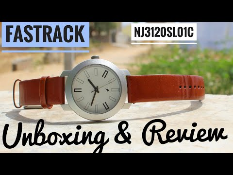 Fastrack Watch NJ3120SL01C Unboxing & Review