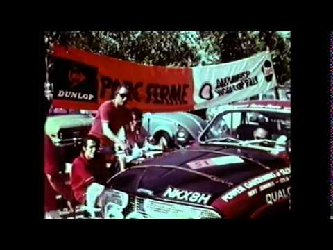 Historic Footage Of 1970 World Cup Rally   Colin Taylor Pds