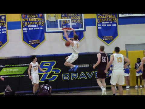 CALEB FURST GOES OFF FOR 32 AND A BIG WIN AGAINST CLASS 4A CULVER ACADEMY