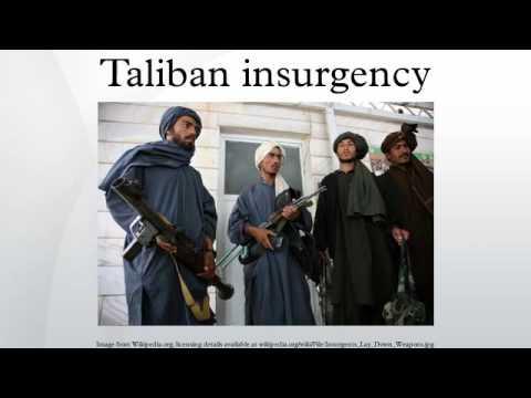 Taliban insurgency