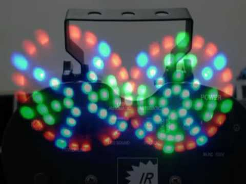 Irradiant Ldl E Rgb 004 Dual Led Moonflower Effect You