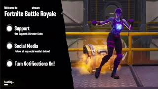 Free Fortnite Loading Screen Intro Template (No Text)