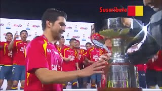 Unión Española 2-0 Universidad De Chile - SuperCopa 2013 - Goles + Levantamiento de la Copa