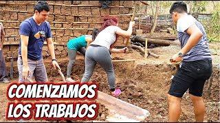 Alegres Pero Tristes a La Vez | Comenzaron Los trabajos De La Casita de Doña Tina !