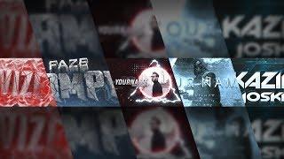 5 КРУТЫХ ШАПОК ДЛЯ КАНАЛА YouTube 2018 #41