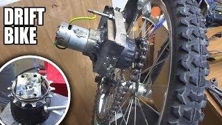 e Bike Gear Chain - Trying to Fix - Dişliyi matkap motoruna takma