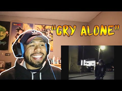 Lil Peep - Cry Alone (Official Video) REACTION