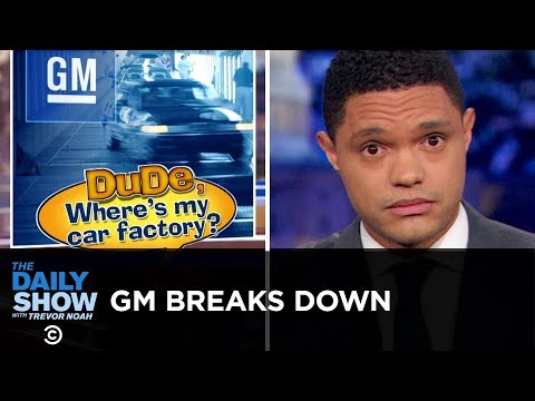 Trump's Broken Promise to General Motors | The Daily Show thumbnail