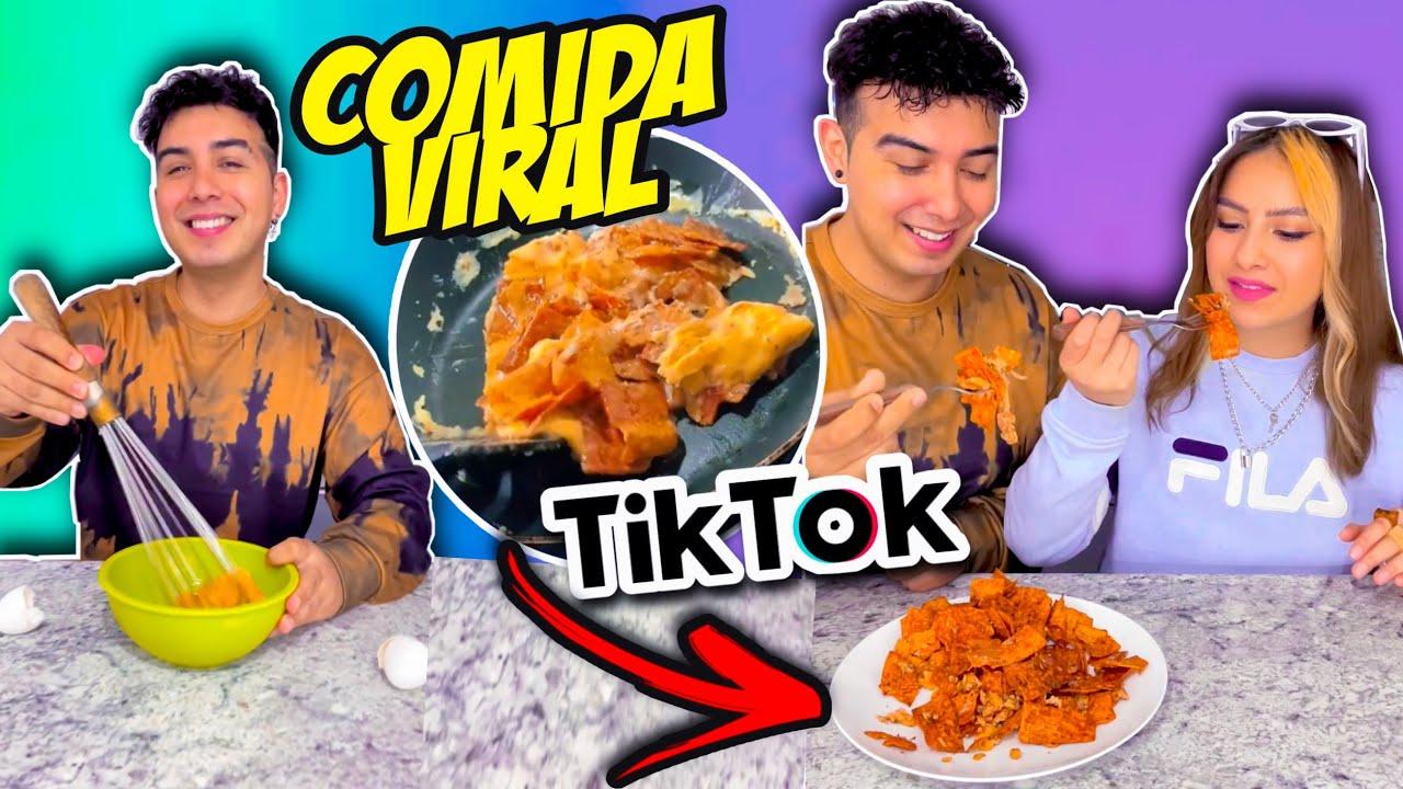PROBANDO la Comida MÁS VIRAL de TIKTOK!! 🤯