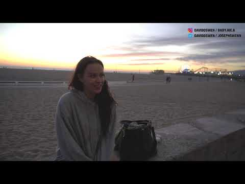 ASKING RANDOM PEOPLE AT SANTA MONICA BEACH ABOUT ONLY FANS!