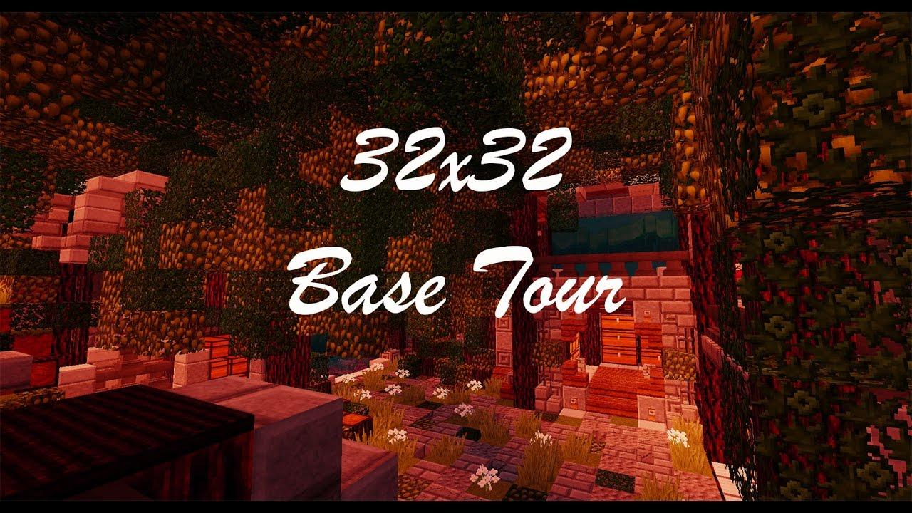 32x32 Factions Base Tour Minecraft Faction Interior Design Ep 8