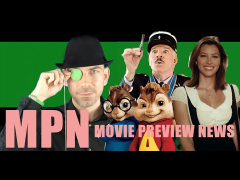 Movie Preview News - August, 2007 - Steve Martin/Jessica Biel/Alvin and the Chipmunks