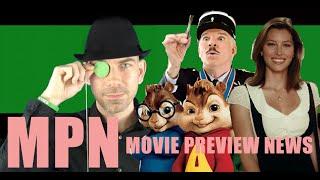 Movie Preview News - August, 2007 - Steve Martin/Jessica Biel/Alvin and the Chipmunks