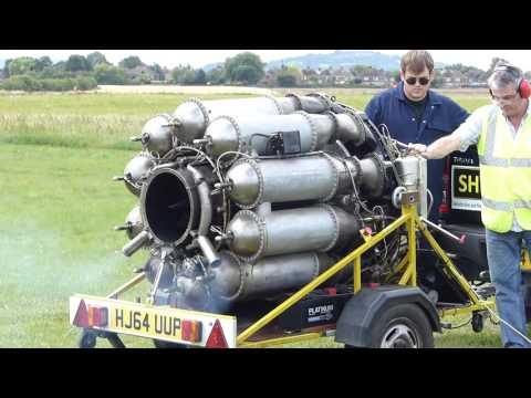 Restored Whittle Jet Engine