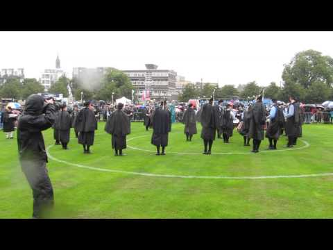 New York Metro Pipe Band Medley, The Worlds 2013.