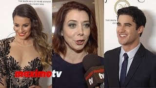 Darren Criss, Lea Michele, Alyson Hannigan TASTE FOR A CURE 2014 Arrivals
