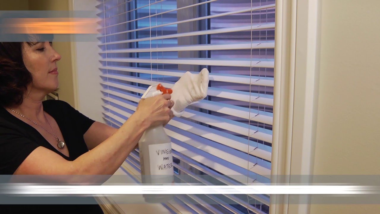 Easy To Clean Blinds.3 Ways To Clean Window Blinds Home Hacks