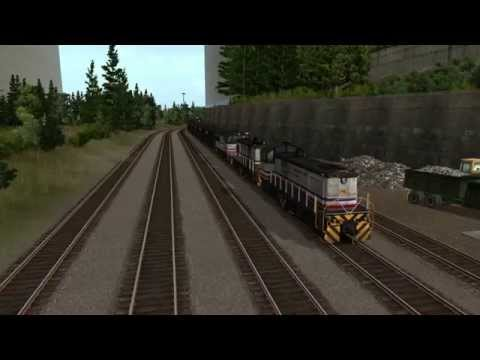 At The Railyard:  Diamond River Mining (Trainz Review)