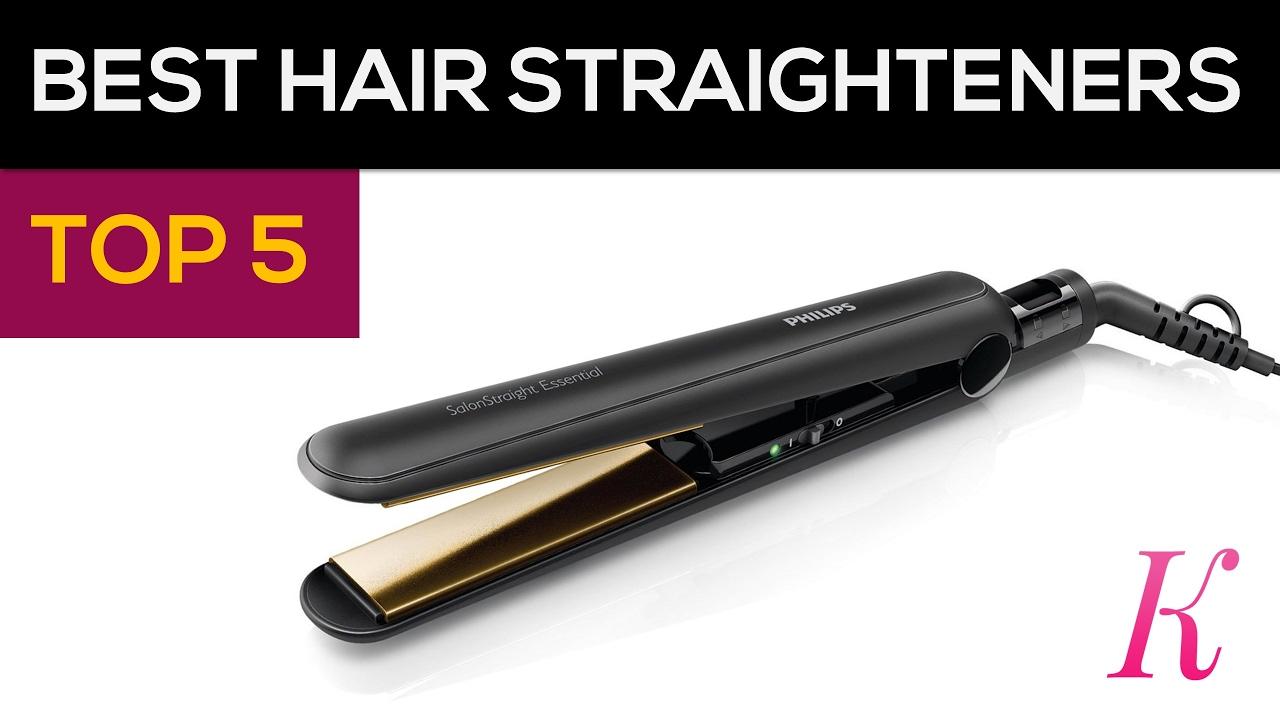Top 5 Best Selling Hair Straighteners in India, 2017