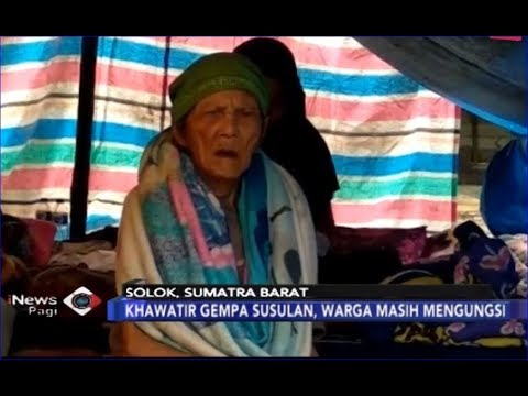 Beginilah Kondisi Korban Gempa Solok, Sumatera Barat - iNews Pagi 03/03