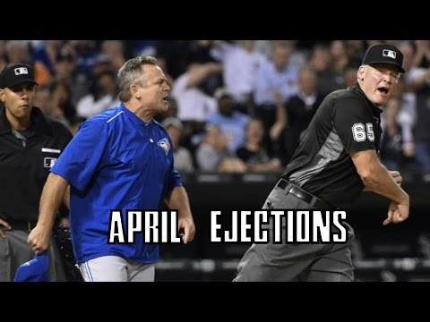 MLB | 2017 April Ejections ᴴᴰ