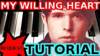 JAMES BLAKE - My Willing Heart - PIANO TUTORIAL Video (Learn Online Piano Lessons)