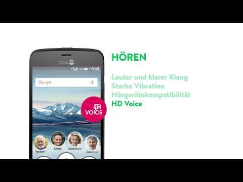 Doro DNA | Warum sind die Doro Smartphones so besonders einfach? - Seniorenhandy