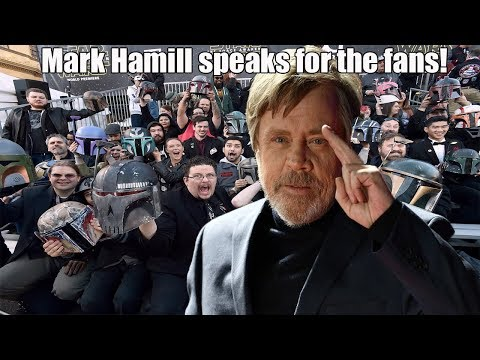 Mark Hamill Defends Star Wars fans